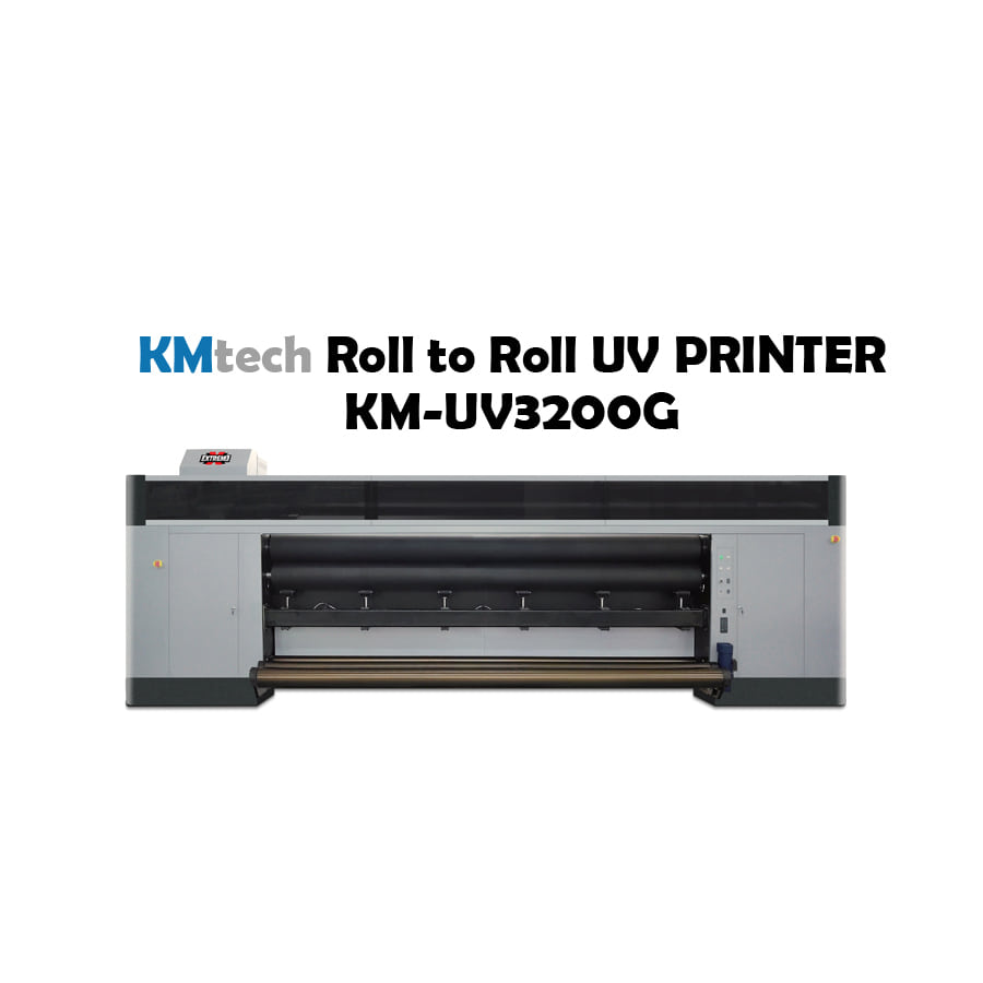 KMtech Roll To Roll UV INKJET PRINTER            KM-UV3200G
